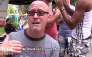 Disabled Military Vet Supports Come Out with Pride Orlando 2013